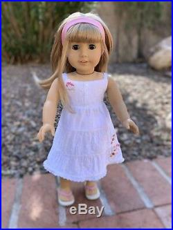 American Girl Gwen Thompson In Meet Outfit 2009 HTF Friend of Chrissa EUC