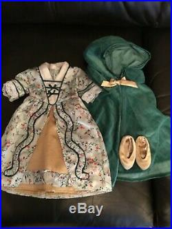 American Girl Historical RETIRED ELIZABETH COLE LOT outfits/ Gowns In EC