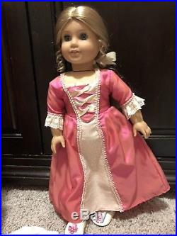 American Girl Historical RETIRED ELIZABETH HUGE LOT riding outfit meet book BOX