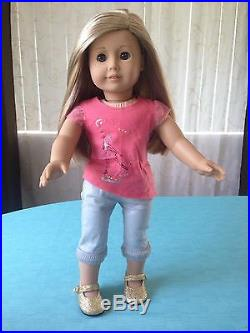 American Girl ISABELLE doll + lots of outfits and accessories dance 18 Doll lot