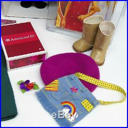 American Girl IVY DOLL + NEW YEARS EVE + MEET OUTFIT + ACCESSORIES Earrings Book