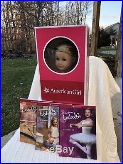 American Girl Isabelle Complete Set- Doll, Studio, Bars, Outfits, & Make-up Kit