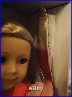 American Girl Isabelle doll 2014 with ballet outfit and soft as snow outfit
