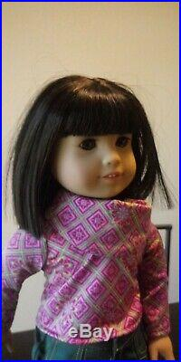 American Girl Ivy Doll and Outfits