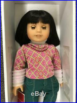 American Girl Ivy In Original Box With Meet Full Outfit Pierced Ears Pretty Doll