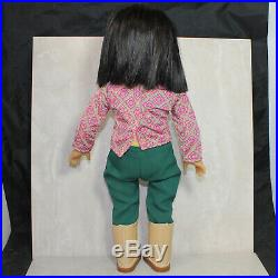 American Girl Ivy Ling 18 Asian Doll in Meet Outfit 2007-2014 Julie Albright