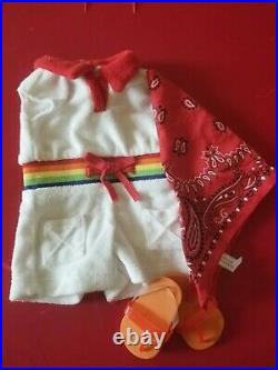 American Girl Ivy Ling's Rainbow Romper Outfit- RARE- complete
