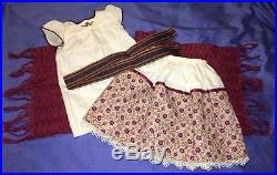 American Girl JOSEFINA Weaving Outfit with Camisa, Skirt, Rebozo COMPLETE