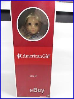 American Girl JULIE ALBRIGHT 18 Doll BRAND NEW NRFB Meet Outfit