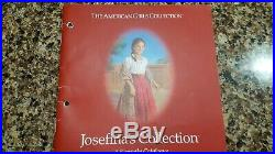 American Girl Josefina HUGE LOT Doll Trunk Table&Chair Dishes Oven Outfits Acc