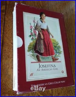 American Girl Josefina Lot Doll, Bed, Table, Outfits, Telescope, Books & More