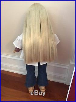American Girl, Julie Albright Doll, Original Box, Rare Outfit