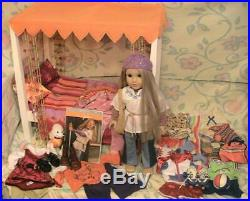 American Girl Julie Doll MEGA Lot Doll, Bed, Hard to find Outfits & Accessories