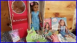 American Girl KANANI Doll NEW- ISLAND OUTFIT, BEACH DRESS, EARRINGS, CATALOG, HAWAII