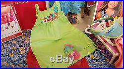 American Girl KANANI Doll NEW + ISLAND OUTFIT, BEACH DRESS, EARRINGS, CATALOG, etc