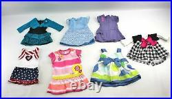 American Girl KANANI Hawaiian Meet Outfit 2011 Doll & Clothes Lot