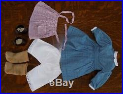 American Girl KIRSTEN EXCELLENT CONDITION in Meet Outfit Historical Retired