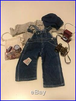 American Girl KIT FULL Hobo Outfit + Supplies Accessories + Boots Retired