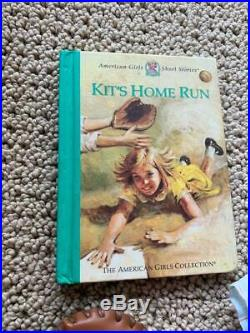 American Girl KIT Red Sox Baseball Outfits, Complete, Cards, Book