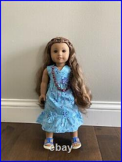 American Girl Kanani Doll Girl Of The Year 2011 With 2 Outfits And Accessories