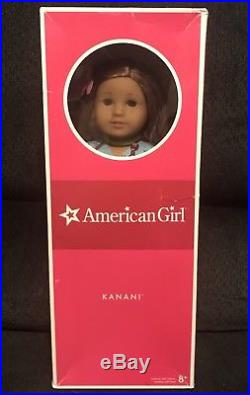 American Girl Kanani Doll of The Year 2011 GOTY Meet Outfit Swimsuit Box EUC