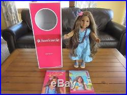 American Girl Kanani Doll withComplete Meet Outfit 2 books + BOX EXCELLENT COND