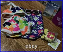 American Girl Kanani doll, Ukulele, Swim Suit, outfits, and Paddle board Lot