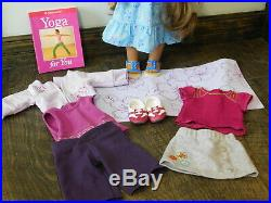 American Girl Kanani doll With Accessories Clothes Shoes Huge Lot Yoga Outfit