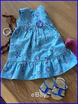 American Girl Kanani with Meet Outfit, Necklace and Flower