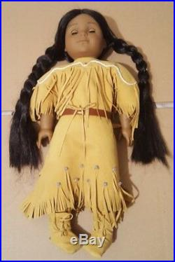 American Girl Kaya Doll Native American in Outfit 18 inches Tall