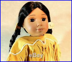 American Girl Kaya Doll w Box Tepee Horses Papoose Outfit + Many Extras MINT LOT