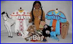 American Girl Kaya Doll withOutfits & Accessories withTatlo Sparks Flying Bear Lot
