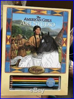 American Girl Kaya HUGE LOT Teepee Campfire outfits books accessories