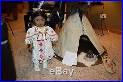 American Girl Kaya, Horse, Teepee and Extra Outfits