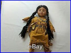 American Girl Kaya Lot 2 Outfits, Tatlo Dog, Teepee, Bedroll, Travois & More