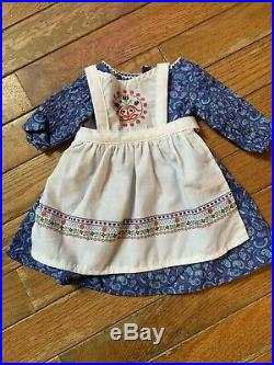 American Girl Kirsten Baking Outfit, Authentic, Very Good Condition