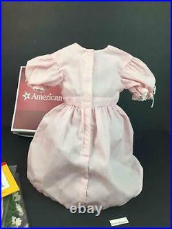 American Girl Kirsten Birthday OutfitDressWreathSocksApronPamphletAG Box