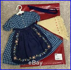 American Girl Kirsten Checked on the Trail Dress NEW Retired Short Story Outfit