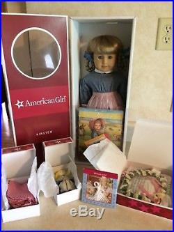 American Girl Kirsten Doll NIB Set- Doll, Birthday Outfit, Rag Doll, Accessories