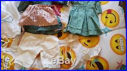 American Girl Kirsten Doll Original Outfit with extra Dress, socks and Nightgown