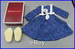American Girl Kirsten Larson's Baking Outfit with Box Rare Retired for 18 Dolls