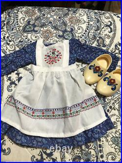 American Girl Kirsten Rare Baking Outfit Excellent Condition RETIRED