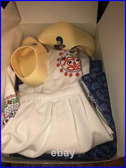 American Girl Kirsten's Baking Outfit MIB No Ribbons MINT In Box RETIRED