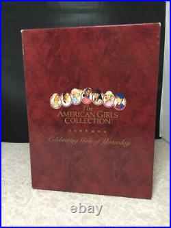 American Girl Kirsten's Checked Dress & Apron-On The Trail Outfit + Book-NEW