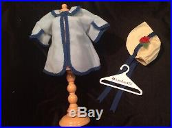 American Girl Kirsten's Recess Outfit Cape & Bonnet- Very Hard To Find