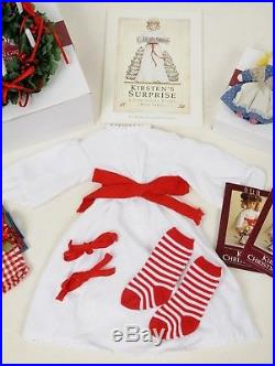 American Girl Kirsten's ST. LUCIA Christmas Story Outfit/Accessories Pleasant Co