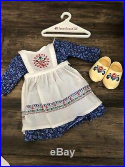 American Girl Kirstens Baking Outfit