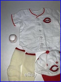 American Girl Kit Baseball Cincinnati Reds Uniform Sports RARE Clothes Outfit