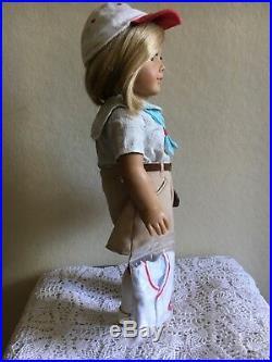 American Girl Kit Doll Cincinnati Reds Baseball Outfit Complete