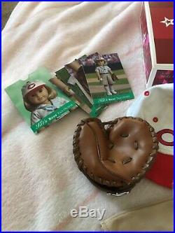 American Girl Kit Kittredge Cincinnati Reds Fan Outfit Baseball EUC